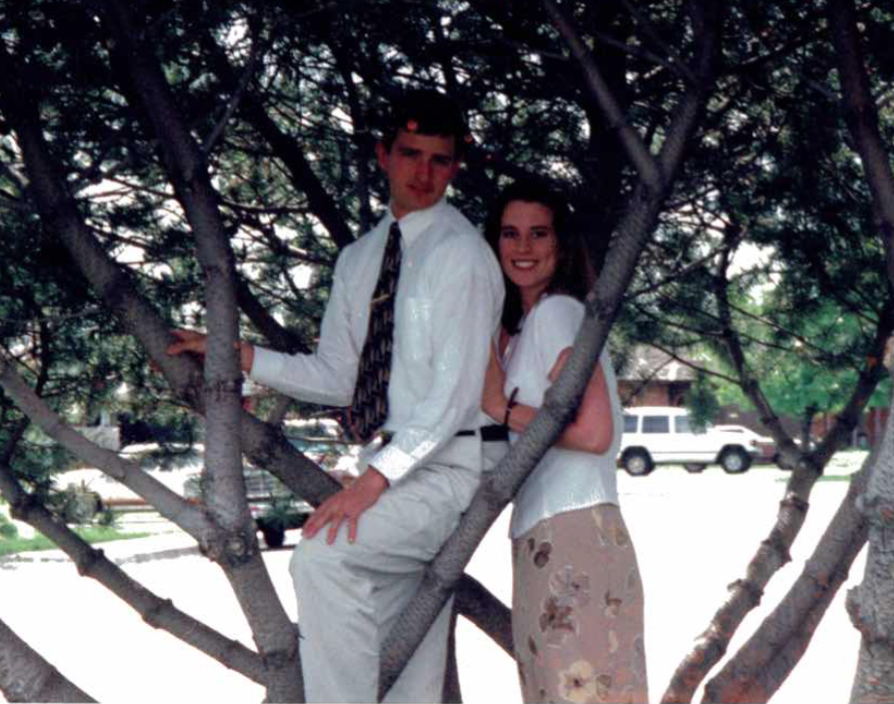 engagement photo 1998