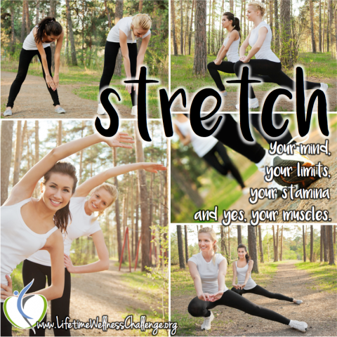 Are you stretching correctly?